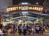 Рынок продуктов питания «Bến Thành Street» в Хошимине