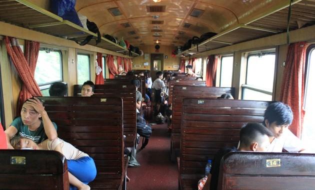 Во вьетнам на поезде